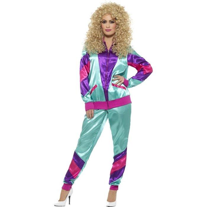 80er Jahre Height Of Fashion Shell Suit Kostum Fur Frauen Funshop