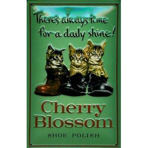 Cherry Blossom - 3 Katzen im Schuh