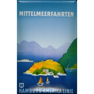 Hamburg-amerika Linie: Mittelmeerfahrten