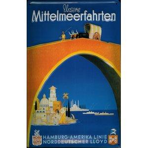Hamburg-american Line: Mittelmeerfahrten