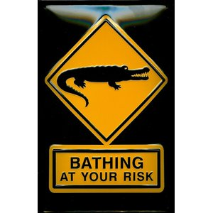 Bathing At Your Risk