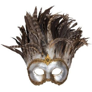 Incas Colombina Argento Piume Miele