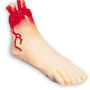 Blutiger Fuss
