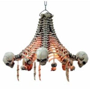 Herunterhängende Skelette