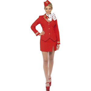 Flight Attendant - Flugbegleiterin - Stewardess