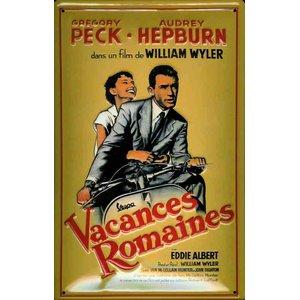 Vacances Romaines: Gregory Peck & Audrey Hepburn