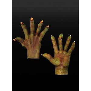 Grüne Dämonenhände