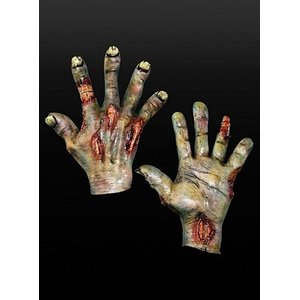 Grüne Zombiehände