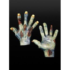 Blaue Zombiehände