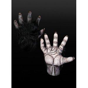 Schwarze Affenhände - Schimpanse