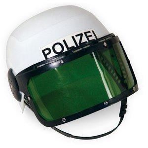 Casque de policier avec visière