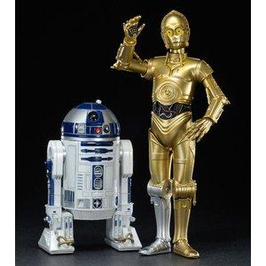 Star Wars: 1/10 C-3PO & R2-D2