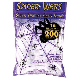 Spinnennetz weiss - Super Strech (18.6 m²)