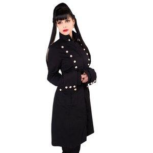 Ladys Corsair Coat Denim