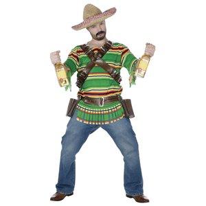 Mexikanischer Tequila Trinker