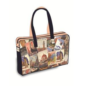 That's Italia - Shopping Tasche: Stadtcollage