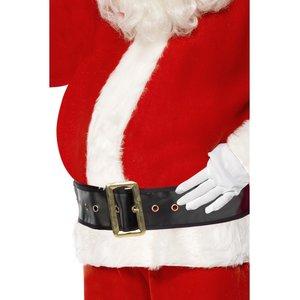 Bauch Weihnachtsmann - Schwangere Frau