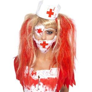Blutige Zombie Krankenschwester