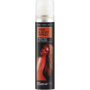 Hair And Body Spray - UV Rouge Neon
