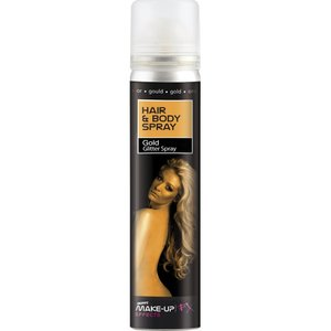 Hair And Body Spray - UV Neon Gold