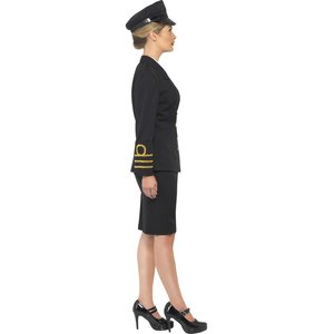 Navy Offizierin