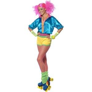 80er Jahre - Skater Girl