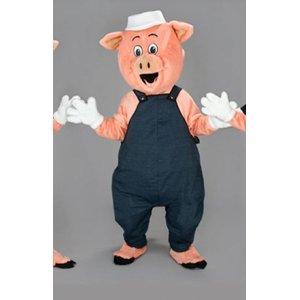 Schweinchen Bauarbeiter