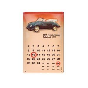 Dkw-meisterklasse-cabriolet 1952-dauerkalender