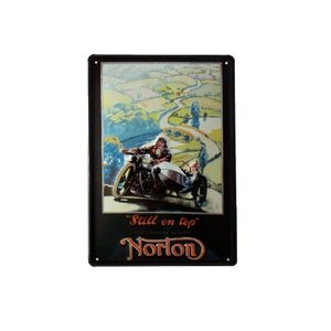 Norton-sidecar-still On Top