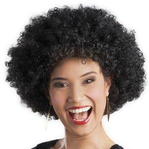 Perruque afro noir