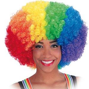 Funky Rainbow Afro