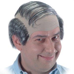 Scheitel Glatze