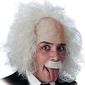 Professor Albert mit Brille
