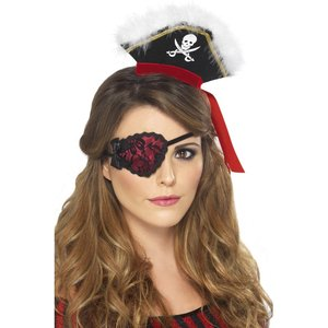 Piratin - rote Spitze
