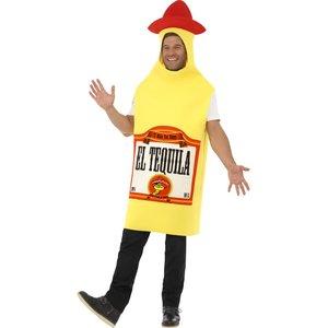 Costume bouteille de tequila, avec tabard