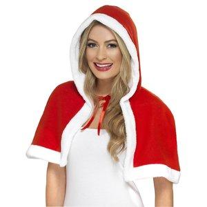 Miss Claus - Santa Mini Cape