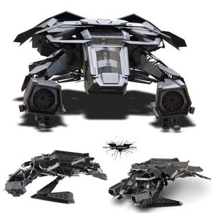 Batman - The Dark Knight Rises: the Bat Plane 1/50