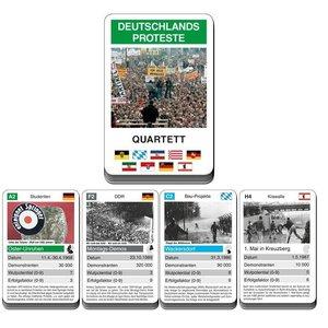 Quartett: Deutschland's Proteste