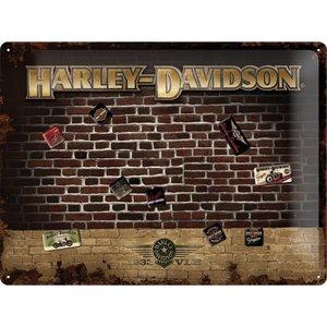 Harley-Davidson avec 9 Aimants