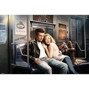 Subway Ride - James Dean & Marilyn Monroe