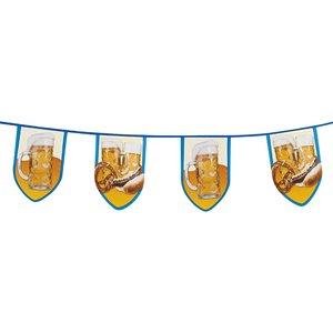 Oktoberfest-Deko: Bier & Brezel