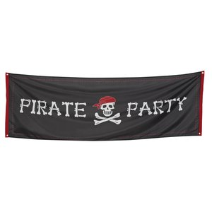 Piraten Banner - Pirate Party