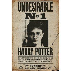 Harry Potter: Undesirable No. 1 - Fahndungsplakat