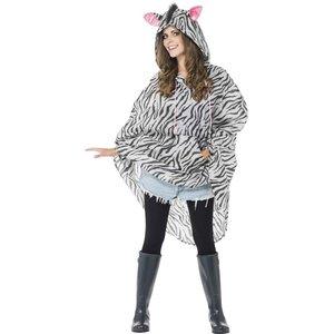 Zebra Poncho