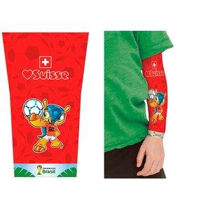 Fifa WM: Tattoo Sleeve Schweiz für Kinder