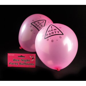 Polterabend: Hen Party - 12er Set