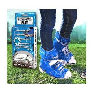 Festival Schuhe - Plastikschuhe blau
