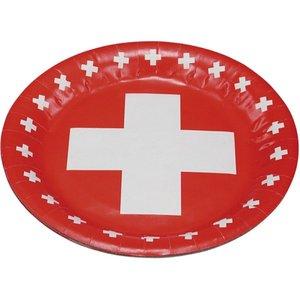 Schweizer Kreuz - 1. August 8er Set