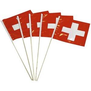 Fahne: Schweiz - 5er Set