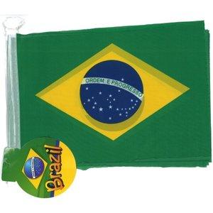 Wimpelkette Brasilien 4m